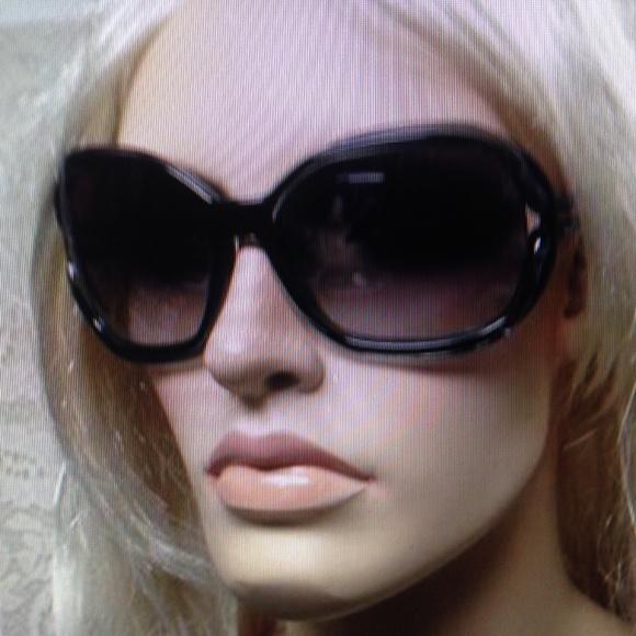 Gucci, Italy, Brown Tortoise Sunglasses